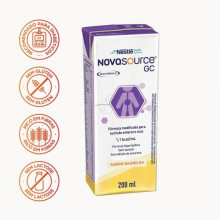 NOVASOURCE® GC Tetra Slim - Baunilha - 200ml