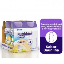 NutriDrink® Compact Baunilha - Danone 4X125 ml