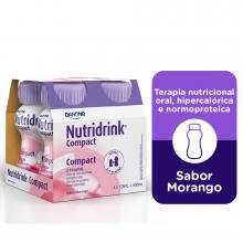 NutriDrink® Compact Morango - Danone 4X125 m
