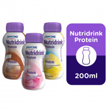 Nutridrink Protein Morango - Danone 200 ml