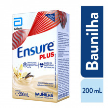 Suplemento Alimentar Ensure® Plus Baunilha - 200ml