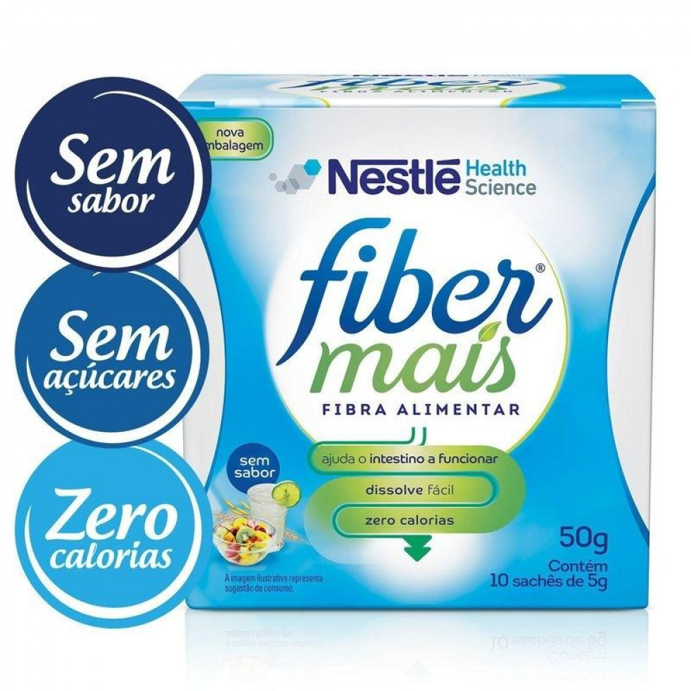 Resource® FiberMais  - Sachê 10x5g