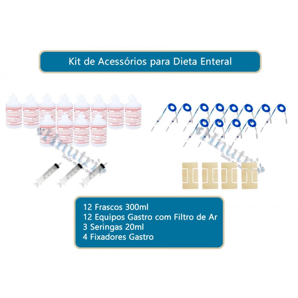 KIT DE ACESSÓRIOS PARA DIETA ENTERAL 12 GASTRO