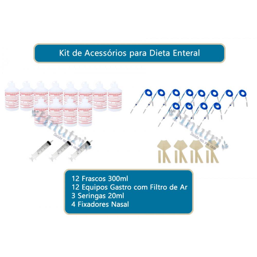 KIT DE ACESSÓRIOS PARA DIETA ENTERAL 12 NASO