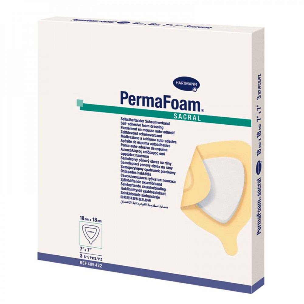 Permafoam Sacral 18X18 cm