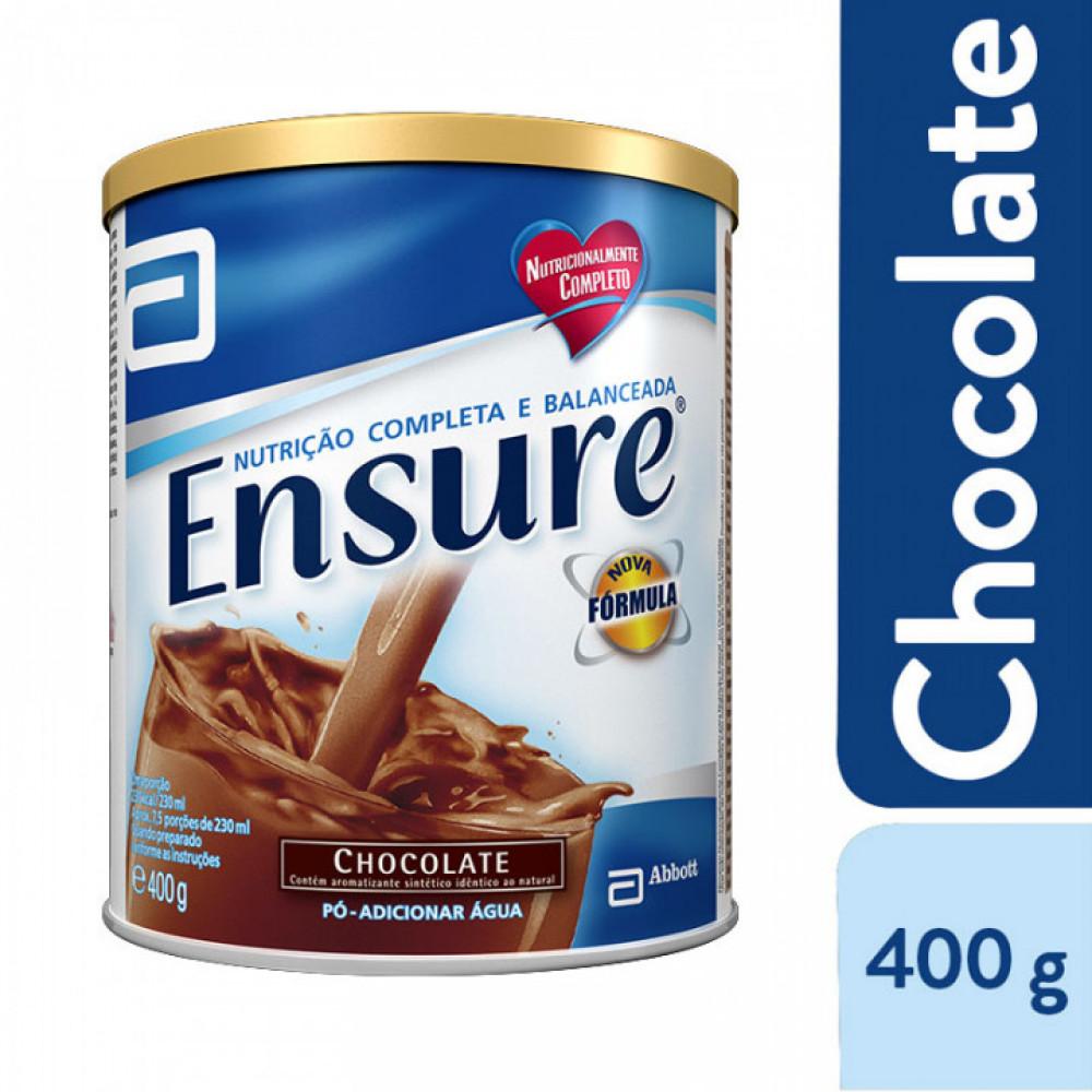 Suplemento Alimentar Ensure® Chocolate- 400g