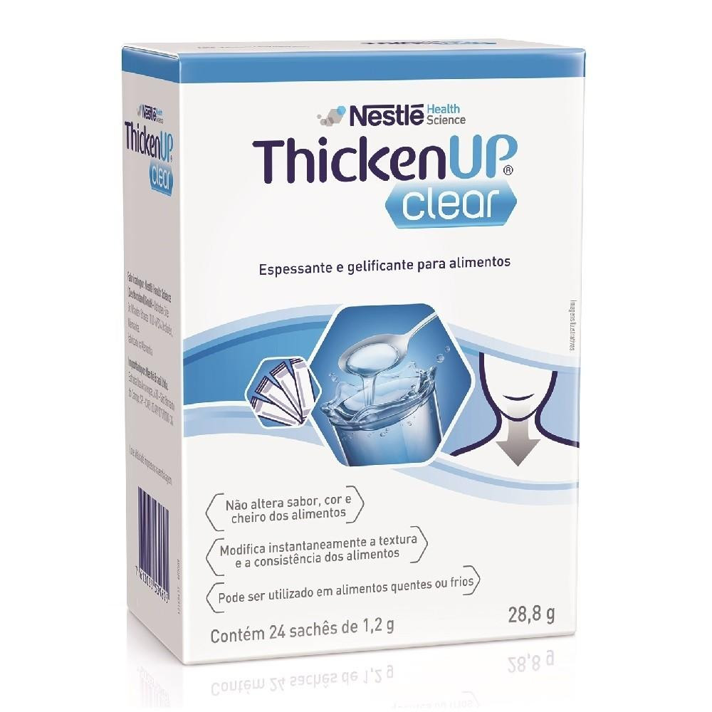 RESOURCE® ThickenUp Clear - Display Sachê 24x1,2g