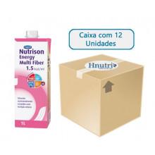 Nutrison Energy Multi Fiber TP - Danone 1000ml - Caixa com 12