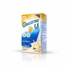 Suplemento Alimentar Glucerna 1.5 Tetra Park Baunilha - 200ml
