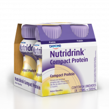 Nutridrink® Compact Protein Baunilha - Danone 4X125 Ml