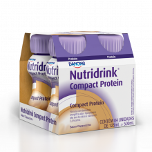 Nutridrink® Compact Protein Capuccino 4x125ml - Danone 4XPB 125 ML