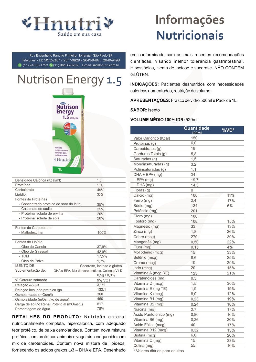 Nutrison Energy 1.5