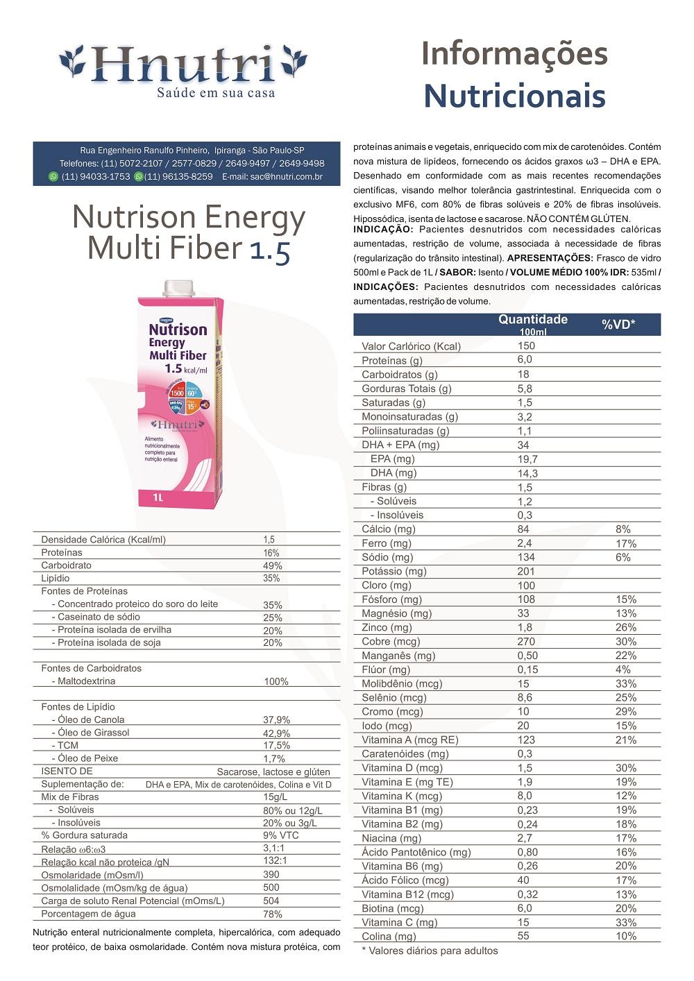 Nutrison Energy MF